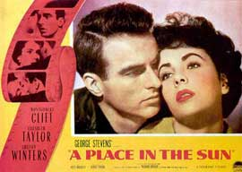 A Place in the Sun - 11 x 14 Movie Poster - Style A