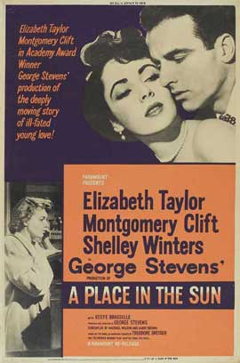 A Place in the Sun - 11 x 17 Movie Poster - Style C