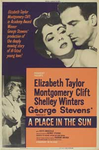 A Place in the Sun - 27 x 40 Movie Poster - Style C