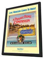 A Prairie Home Companion - 11 x 17 Movie Poster - Style A - in Deluxe Wood Frame
