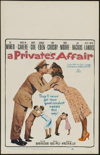 A Private's Affair - 11 x 17 Movie Poster - Style A