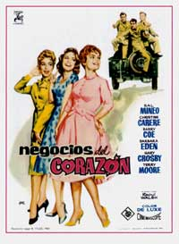 A Private's Affair - 11 x 17 Movie Poster - Spanish Style A