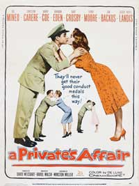 A Private's Affair - 27 x 40 Movie Poster - Style B