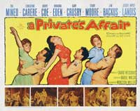 A Private's Affair - 22 x 28 Movie Poster - Half Sheet Style A