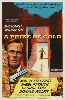 A Prize of Gold - 11 x 17 Movie Poster - Style B