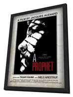 A Prophet - 27 x 40 Movie Poster - Style A - in Deluxe Wood Frame