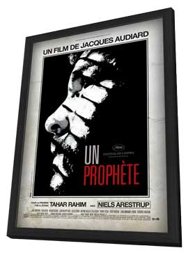 A Prophet - 11 x 17 Movie Poster - French Style A - in Deluxe Wood Frame