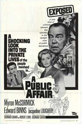 A Public Affair - 11 x 17 Movie Poster - Style A