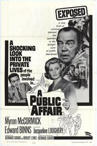 A Public Affair - 27 x 40 Movie Poster - Style A