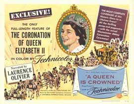A Queen Is Crowned - 11 x 17 Movie Poster - Style A