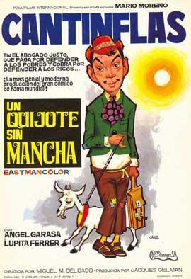 A Quixote Without La Mancha - 11 x 17 Movie Poster - Spanish Style B