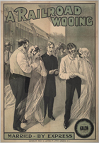 A Railroad Wooing - 11 x 17 Movie Poster - Style A