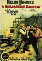 A Railroader's Bravery - 11 x 17 Movie Poster - Style A