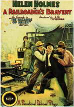 A Railroader's Bravery - 27 x 40 Movie Poster - Style A