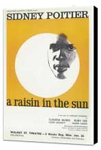 A Raisin In The Sun (Broadway) - 11 x 17 Poster - Style A - Museum Wrapped Canvas