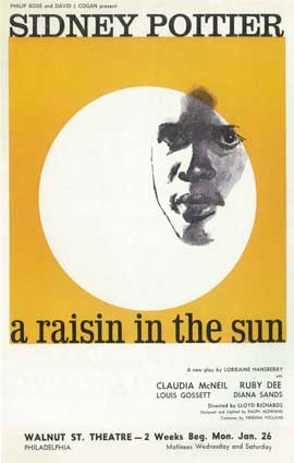 A Raisin In The Sun (Broadway) - 14 x 22 Poster - Style A