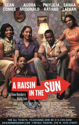 A Raisin In The Sun (Broadway) - 27 x 40 Poster - Style A