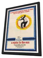 A Raisin in the Sun - 27 x 40 Movie Poster - Style A - in Deluxe Wood Frame