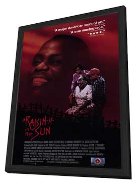 A Raisin in the Sun - 11 x 17 Movie Poster - Style A - in Deluxe Wood Frame