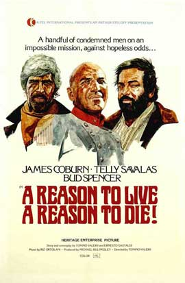 A Reason to Live, a Reason to Die - 11 x 17 Movie Poster - Style A