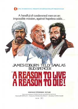 A Reason to Live, a Reason to Die - 27 x 40 Movie Poster - Style B