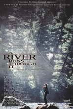 A River Runs Through It - 11 x 17 Movie Poster - Style A