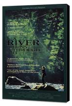 A River Runs Through It - 27 x 40 Movie Poster - Style B - Museum Wrapped Canvas