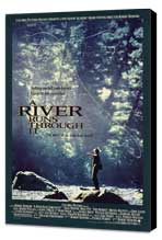 A River Runs Through It - 27 x 40 Movie Poster - Style C - Museum Wrapped Canvas