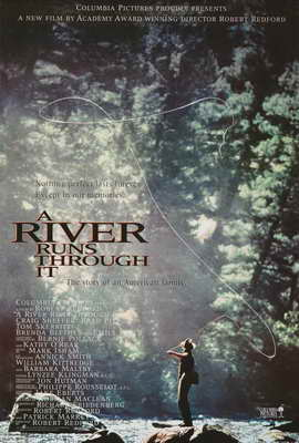 A River Runs Through It - 27 x 40 Movie Poster - Style A