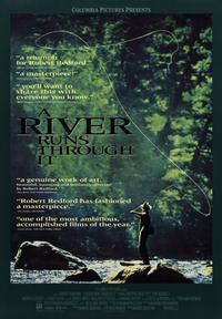 A River Runs Through It - 43 x 62 Movie Poster - Bus Shelter Style A