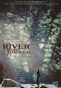 A River Runs Through It - 43 x 62 Movie Poster - Bus Shelter Style B