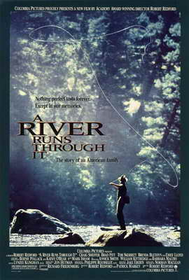 A River Runs Through It - 27 x 40 Movie Poster - Style C