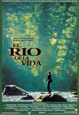 A River Runs Through It - 11 x 17 Movie Poster - Spanish Style A