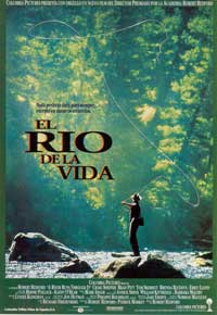 A River Runs Through It - 43 x 62 Movie Poster - Spanish Style A
