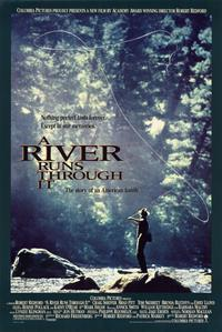A River Runs Through It - 11 x 17 Movie Poster - Style B - Museum Wrapped Canvas