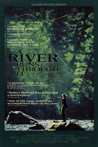 A River Runs Through It - 11 x 17 Movie Poster - Style C - Museum Wrapped Canvas