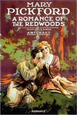 A Romance of the Redwoods - 11 x 17 Movie Poster - Style A