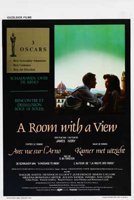 A Room with a View - 11 x 17 Movie Poster - Belgian Style A