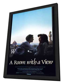 A Room with a View - 11 x 17 Movie Poster - Style A - in Deluxe Wood Frame