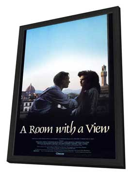 A Room with a View - 27 x 40 Movie Poster - Style A - in Deluxe Wood Frame