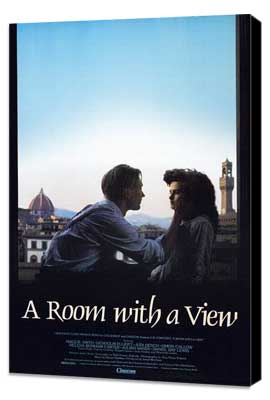 A Room with a View - 11 x 17 Movie Poster - Style A - Museum Wrapped Canvas
