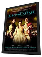 A Royal Affair - 11 x 17 Movie Poster - Style F - in Deluxe Wood Frame