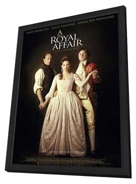 A Royal Affair - 27 x 40 Movie Poster - Style A - in Deluxe Wood Frame