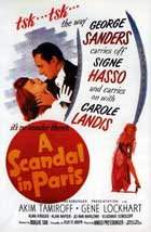 A Scandal in Paris - 11 x 17 Movie Poster - Style A