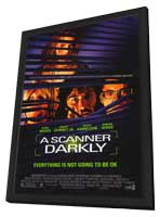 A Scanner Darkly - 11 x 17 Movie Poster - Style B - in Deluxe Wood Frame