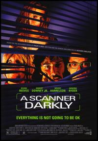 A Scanner Darkly - 43 x 62 Movie Poster - Bus Shelter Style A