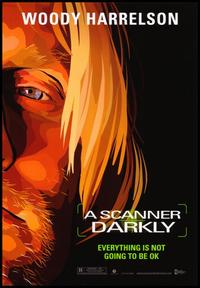 A Scanner Darkly - 43 x 62 Movie Poster - Bus Shelter Style B