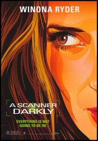 A Scanner Darkly - 43 x 62 Movie Poster - Bus Shelter Style C