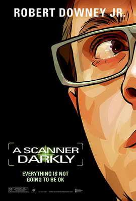 A Scanner Darkly - 27 x 40 Movie Poster - Style G