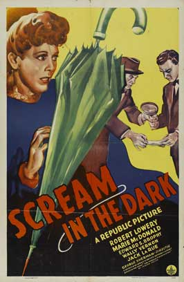 A Scream in the Dark - 11 x 17 Movie Poster - Style B
